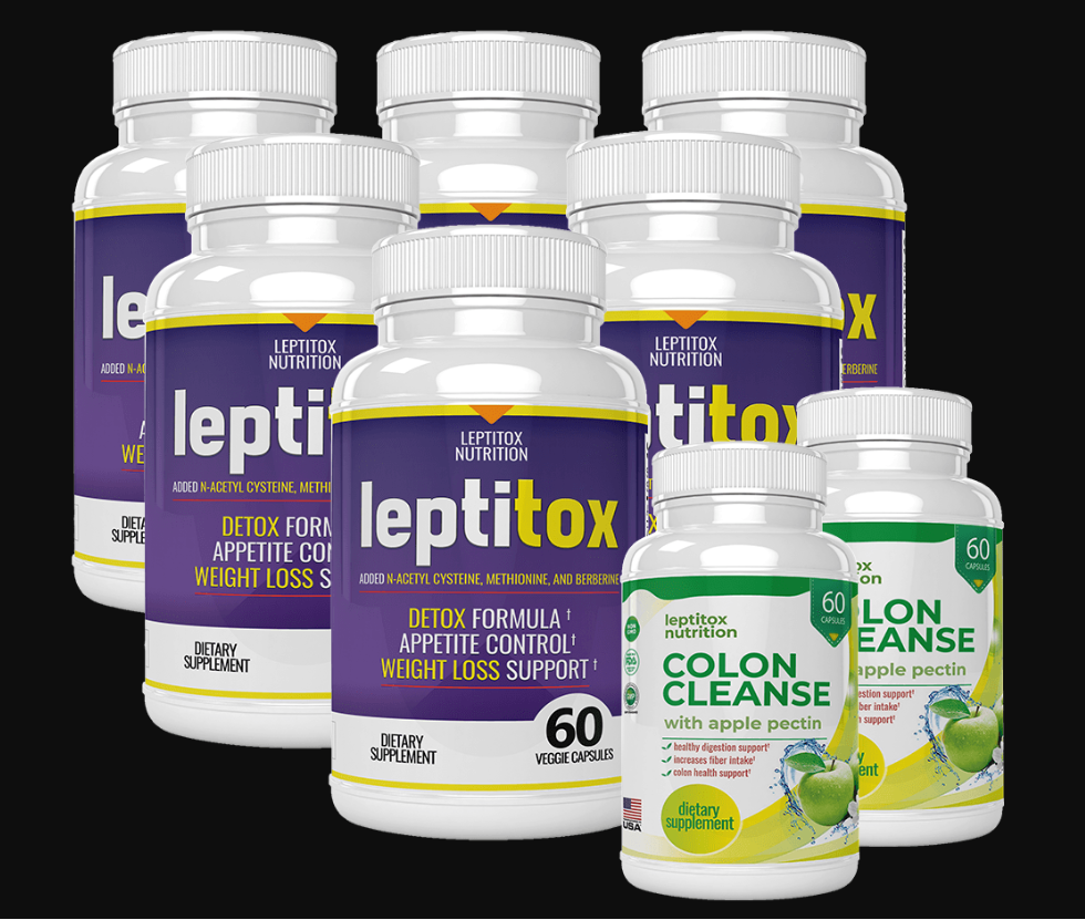 Leptitox Weight Loss All Colors